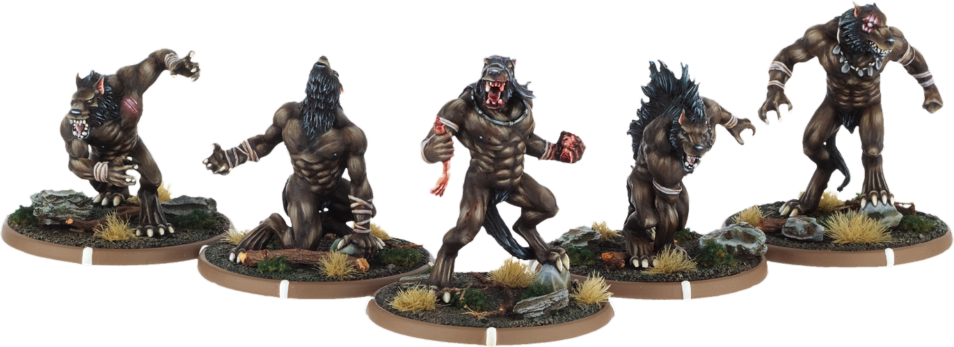 Werewolf miniature mierce